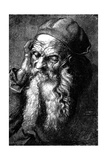 Study of an Old Man  Late 15th - Early 16th Century