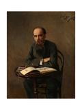Portrait of the Painter Yefim Yefimovich Volkov (1844-192)  1885