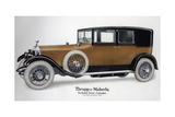 Enclosed Drive Rolls-Royce Cabriolet with Extension Closed  C1910-1929