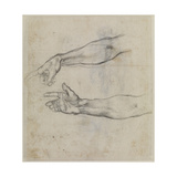 Studies of an Outstretched Arm for the Fresco the Drunkenness of Noah  C1508