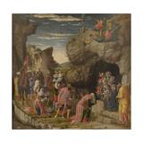 Epiphany (Trittico Degli Uffizi (Uffizi Tryptic)  Central Panel)  Ca 1463-1464