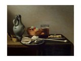 Still Life with Clay Pipes  1636