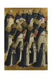 The Dominican Blessed (Panel from Fiesole San Domenico Altarpiec)  C 1423-1424