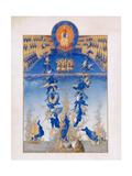 The Fall of the Rebel Angels (Les Très Riches Heures Du Duc De Berr)  1412-1416