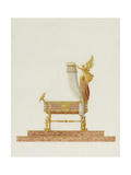 Design of the Bassinet for His Majesty the King of Rome  1811
