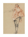Study of a Standing Dancer with an Outstretched Arm  1710