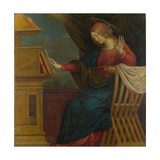 The Virgin Mary (Panel from an Altarpiece: the Annunciatio)  before 1511