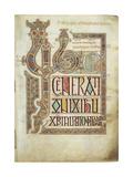 The Lindisfarne Gospels  715-721