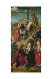 The Deposition (Triptych: Scenes from the Passion of Christ  Right Pane)  C 1510