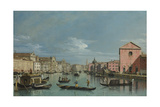 Venice  Upper Reaches of the Grand Canal Facing Santa Croce  1740s