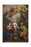 The Heavenly and Earthly Trinities (The Pedroso Murill)  C 1680