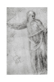 Study for a Figure of Christ  C1555