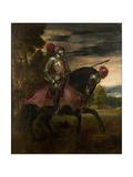 Equestrian Portrait of Charles V of Spain (1500-155)  1548