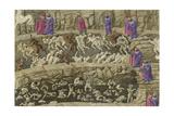Illustration to the Divine Comedy by Dante Alighieri  1480-1490