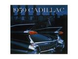 Poster Advertising a Cadillac  1959