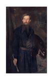 Portrait of the Artist Viktor Vasnetsov (1848-192)  1891