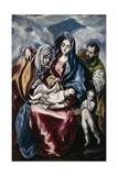 The Holy Family with Saint Anne and John the Baptist as Child  Ca 1600