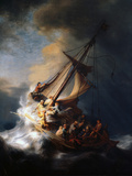 Christ in the Storm on the Lake of Galilee, 1633 Giclée par Rembrandt Van Rijn