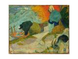 Washerwomen in Arles (Laveuses À Arle)  1888