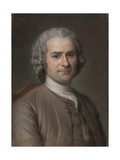 Portrait of Jean-Jacques Rousseau (1712-177)