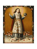 Christ Child with Passion Symbols  Second Half of the 17th C