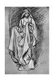 Sketch of Regan  from King Lear  1899