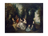 Party in the Garden  1690-1743