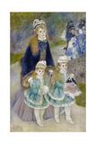 Mother and Children (La Promenad)  1874-1876