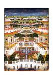 A Palace Complex with Harem Gardens  Ca 1764-1765