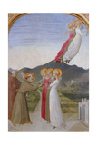 The Mystical Marriage of St Francis of Assisi  1444