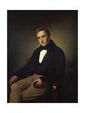Portrait of the Poet Alessandro Manzoni (1785-187)