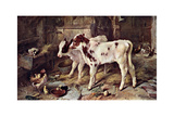 The Dog in the Manger, 1885 Giclée par Walter Hunt