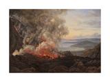 Eruption of the Volcano Vesuvius  1821