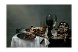 Breakfast Table with Blackberry Pie  1631