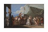 The Triumph of Pulcinella  1760-1770