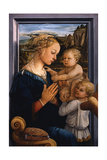 Madonna and Child with Two Angels  1460S