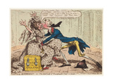 Political Ravishment  or the Old Lady of Threadneedle Street in Danger!  1797