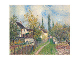 A Path at Les Sablons  1883