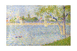 The Seine Seen from La Grande Jatte  1888