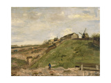 The Hill of Montmartre with Stone Quarry  1886