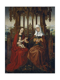 The Virgin and Child with Saint Anne  Ca 1528