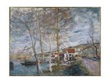 Flood at Moret (Inondation À More)  1879