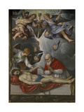 Dead Christ  Adored by Pope Pius V  Ca 1571-1572
