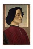 Portrait of Giuliano De' Medici  Ca 1475