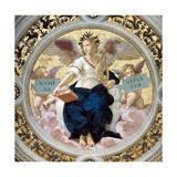 The Poetry Stanza Della Segnatura  1508