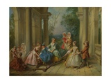 The Four Ages of Man: Childhood  Ca 1735