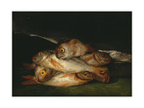 Still Life with Golden Bream  1808-1812