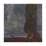 Approaching Thunderstorm (The Large Poplar I), 1903 Giclée par Gustav Klimt