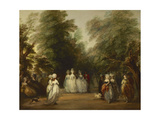 The Mall in St James's Park  Ca 1783