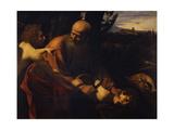 Abraham Sacrificing Isaac  1603-1604